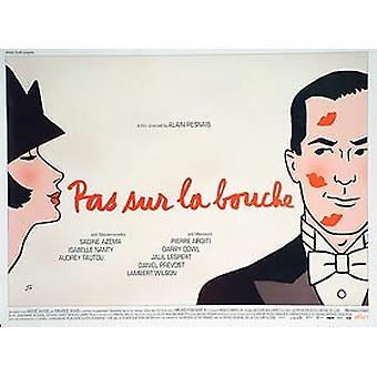 Pas sur la Bouche alkuperäinen elokuva juliste