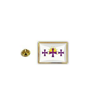 Pine PineS Pin Badge Pin-apos;s Metal Broche Papillon Flag Hispanic Flag