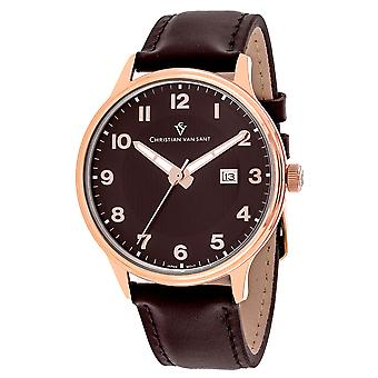 Christian Van Sant Uomo's Montero Brown Dial Watch - CV9811