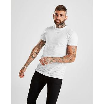 Nuovo Mckenzie Uomo's Fabio Manica corta T-Shirt Bianco