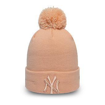 New Era KINDER Mädchen Wintermütze - NY Yankees blush