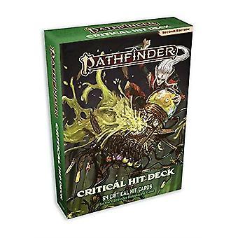 Critical hit kaart deck Pathfinder RPG tweede editie P2