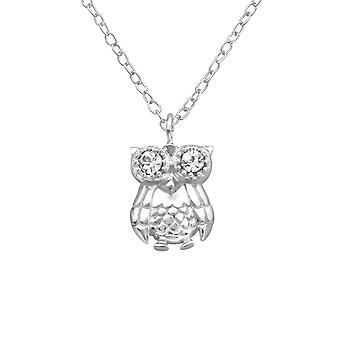 Buho - plata de ley 925 Jewelled collares - W25024X