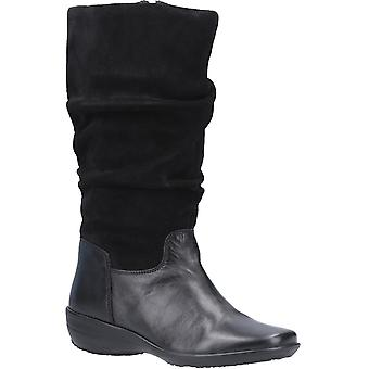Fleet & Foster Womens Margot Zip Mid Boot Black