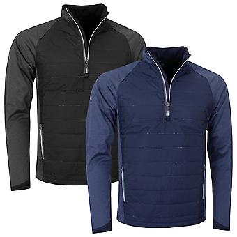 Callaway Golf Mens Ultrasonic Quilted Technical Pullover