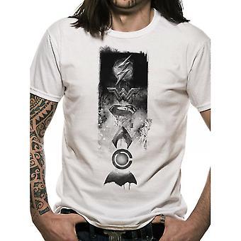 Justice League Unisex Adults Icons Design T-shirt