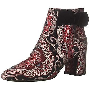 Kate Spade New York Womens Holly Fabric Round Toe Ankle Fashion Boots