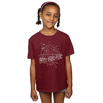 Star Wars Girls Death Star Sleigh T-Shirt
