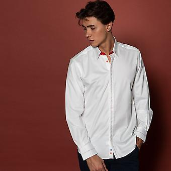 CLAUDIO LUGLI Formal Shirt Concealed Button Detail