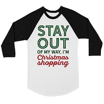 Christmas Shopping Cool BKWT Womens Baseball Shirt Holiday Gift