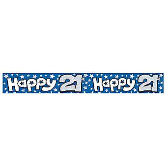 Expression Factory Happy 21st Birthday Foil Party Banner