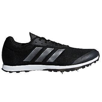 adidas XCS Womens Ladies Cross Country Running Spike Shoe Black