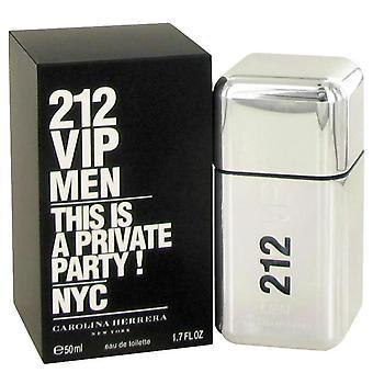 212 Vip eau de toilette spray de carolina herrera 490509 50 ml