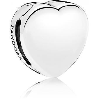 Charm Pandora 797620 - Charm Clip Heart Reflections Women