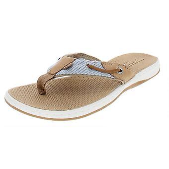 Sperry Womens Seafish Fabric Open Toe Walking Slide Sandals