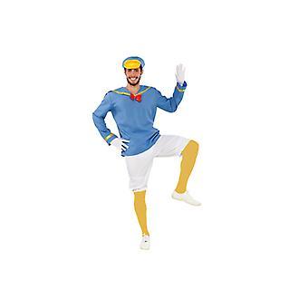 Duck costume duck Donald comic costume mens Gr. L