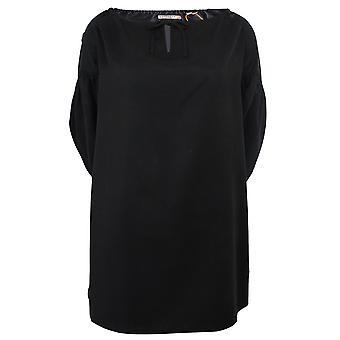 Superdry kvinner's svart arizona titt ei en boo kjole