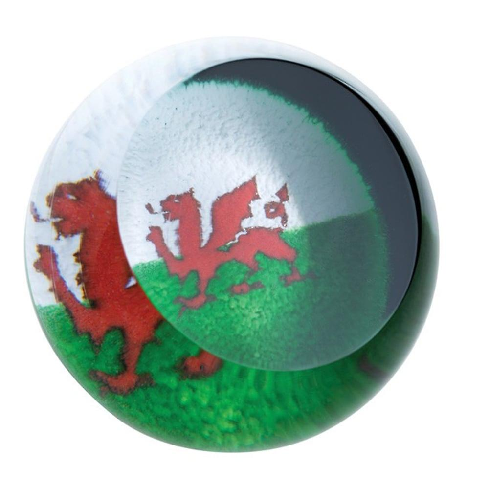 Caithness Glass Welsh Red Dragon Paperweight