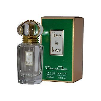 Oscar de la Renta Live in Love Eau de Parfum Spray 30ml