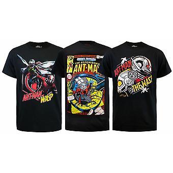 Marvel Ant-Man Ja Ammesarjakuva T-paidat
