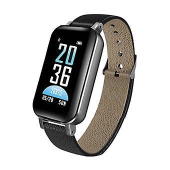 Lemfo T89 Smartwatch Tevékenység Tracker + TWS vezeték nélküli fülhallgató vezeték nélküli fülhallgató Fitness Sport iOS Android Black