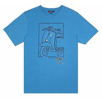 BEN SHERMAN Ben Sherman Moped Schnur T Shirt