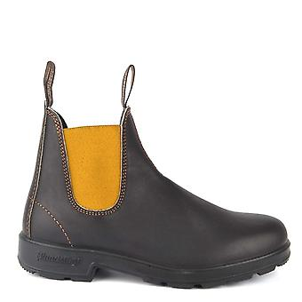 Blundstone 1919 Brown And Mustard Leather Boot