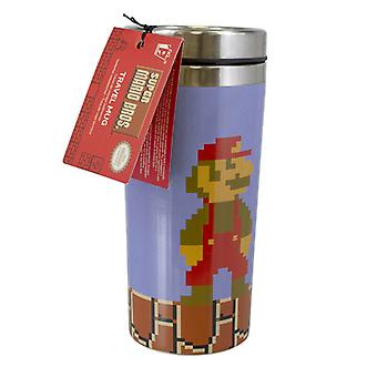 Super Mario Travel Mug Reusable Cup Coffee Spill Leak Proof Insulated 450ml