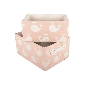 Form Living Aufbewahrungsbox Pink Set 2 Stück