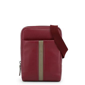 Piquadro Original Men All Year Crossbody Bag - Red Color 34062
