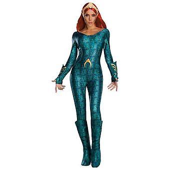Rubie's Women's Standard Aquaman Movie Adult Deluxe Mera Costume