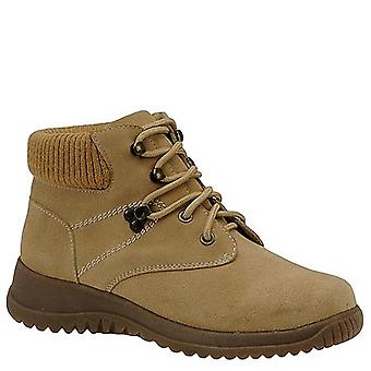 Toe Warmers Womens low boot Leather Closed Toe Ankle Working Boots