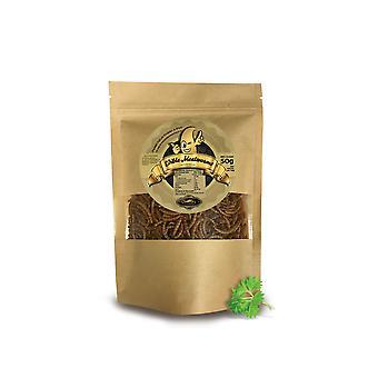 50 g eetbare meelwormen voor menselijke consumptie