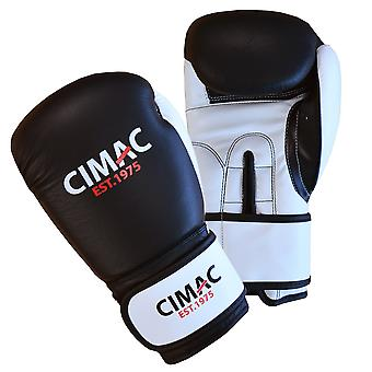 Cimac PU Boxing MMA Sparring Gym Training Bag Gloves Black