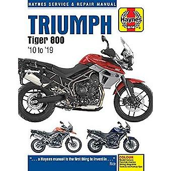 Triumph Tiger 800 (10 -19) - 2010 to 2019 by Matthew Coombs - 97817852
