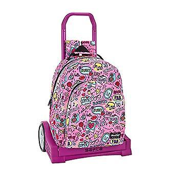 Safta Fab Blackfit Casual Backpack - 42 cm - Multicolor