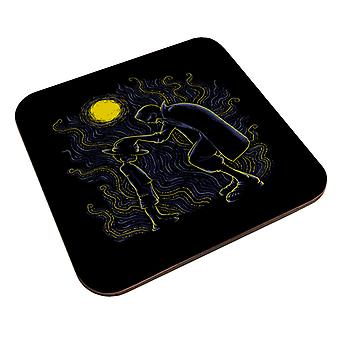 Impressionist Pirates Luffy And Shanks One Piece Coaster