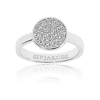 Sif Jakobs - Ring - Ladies - SACILE - Sterling Silver 925 - SJ-R2071-CZ-56