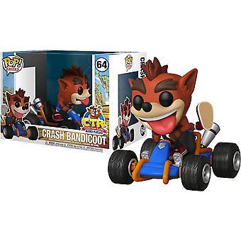 Crash Bandicoot Crash Go-Kart Pop! Ride