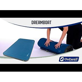 Outwell Dreamboat Ergo Opblaasbare Pillow Blue