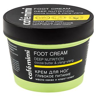 Cafe Mimi Deep Nutrition Foot Cream 110 ml