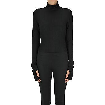 Mm6 Maison Margiela Ezgl038121 Women's Black Other Materials Sweater