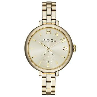 Marc by Marc Jacobs MBM3363 Sally Champagne Dial Gold-tone Ladies Watch