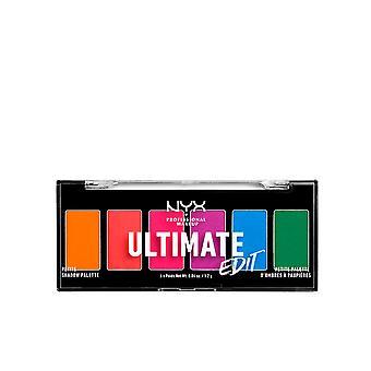 Nyx Professional Muodostavat Ultimate Edit Petite Shadow Palette #warm Neutrals 6x1,2 Gr Naisille