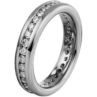 Diamond ring 750/white gold 1 ct.