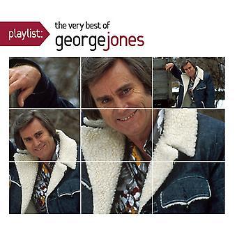 George Jones - Playlist: Very Best of [CD] USA import