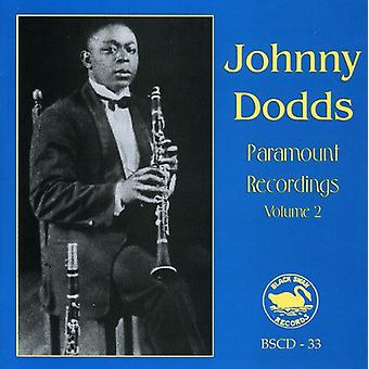 Johnny Dodds - Johnny Dodds: Vol. 2-Complete Paramount Recordings [CD] USA import
