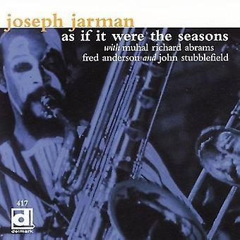 Joseph Jarman-como se fosse o Seasons [CD] EUA importação