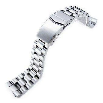 سوار ساعة Strapcode 22mm endmill 316l سوار مشاهدة الفولاذ المقاوم للصدأ لsko السلاحف الجديدة srp777 & padi srpa21، v-شبك نحى