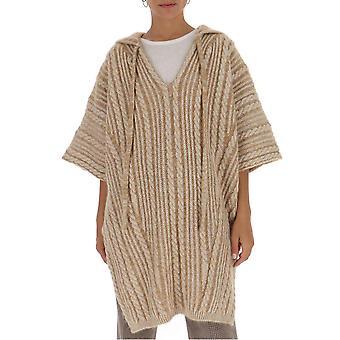 Chloé Chc20amp61590284 Women's Beige Wool Sweater